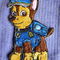 """""""Police Dog"""" Iron-on Badge"""