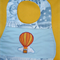 """Hot Air Balloon"" Baby Bib"