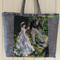 Renoir Upcycled Tapestry Needlepoint Handbag or Weekender ☆ Unique ☆ Boho