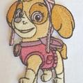 """""""Sky Dog"""" Iron-on Badge"""