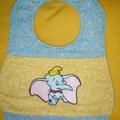 """Circus Elephant"" Baby Bib"