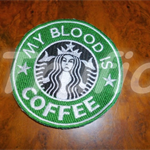 "Starbucks inspired ""My Blood is Coffee""