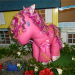 Pink Pony Stuffed Toy
