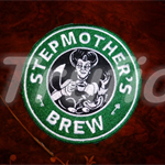 """Starbuck inspired """"Stepmothers"""" Drink Coaster"""