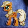 """Apple Orchard Pony"" Iron-on Badge"