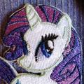 """""""Diamond Pony"""" Iron-on Badge"""