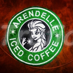 "Starbucks inspired ""Iced Coffee"" Drink Coaster"