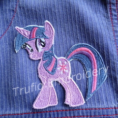 """Sparkles Pony"" Iron-on Badge"