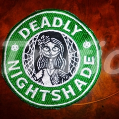 "Starbucks inspired ""Deadly Nightshade"" Drink Coaster"