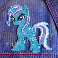 """Pixie Pony"" Iron-on Badge"