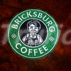 "Starbuck inspired ""Lego"" Drink Coaster"