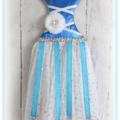 Tutu Dress Hair Bow/Clip Holder, Girls Décor, Wall Decoration, Gift, Nursery