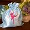 """Pale Blue"" Satin Ballet/Dance Shoes Drawstring Bag"