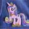 """Princess Candy Unicorn"" Iron-on Badge"