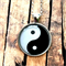 Yin & Yang Pendant | silver or bronze | gift | MY004