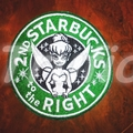 "Starbucks inspired ""Tinkerbell"" Drink Coaster"