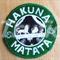 """Starbucks inspired """"Hakuna Matata"""" Drink Coaster"""