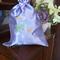 """Ballerina and Flowers"" Satin Ballet/Dance Shoes Drawstring Bag"