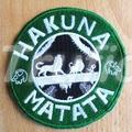 """Starbuck inspired """"Hakuna Matata"""" Drink Coaster"""