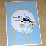 Baby Boy Card - cute baby boy!