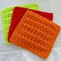 Enviro friendly dishcloths: rainbow colour for your kitchen