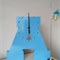"WOODEN LETTER ""A"" CLOCK"