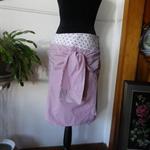 Tie front Shirt Skirt