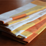 Cloth Napkins (set of 6) Reusable, Gift Idea