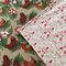 Christmas Tree Mat for under the Christmas Tree,  Alexander Henry Fabric