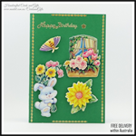 Birthday Card, Greeting Cards Child, Spring Handcrafted Cards and Gifts In stock