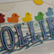 Personalised Name Frame - 5 Little Ducks