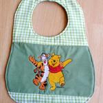 """""""Pooh and Tigger"""" Baby Bib"""