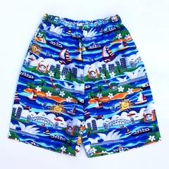 "Sizes 4, 5,  6 & 7 - ""Sights of Sydney"" Shorts"