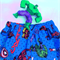 "Sizes 5 and 6 - ""Super Heroes"" Shorts"