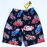 """Sizes 3, 4, 5 and 6 - """"Racing Cars"""" Shorts"""