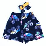 """Size 2 - """"Monster Trucks"""" shorts"""