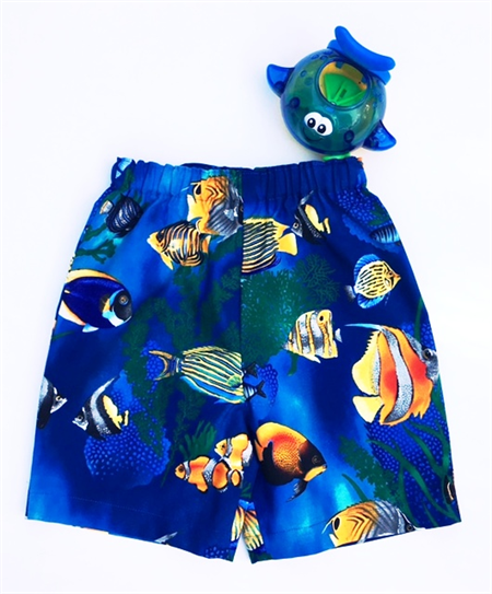 "Sizes 3, 4 and 5 - ""Life at Sea"" Shorts"