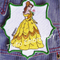 """Belle"" Iron-on Badge"