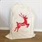 XLarge Custom Santa Sack Reindeer