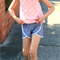 Summer Shorts 'Soft Grey' - size 3, 4, 5, 6, 7 & 8