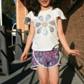 Summer Shorts 'Teeny Tiny Flowers' - size 3, 4, 5, 6, 7 & 8