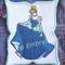 """Cinderella"" Iron-on Badge"