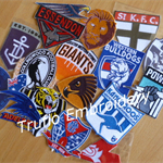 """AFL Team Styled"" Iron-on Badge"