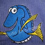 """""""Dory Fish"""" Iron-on Badge"""