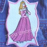 """""""Sleeping Beauty"""" Iron-on Badge"""