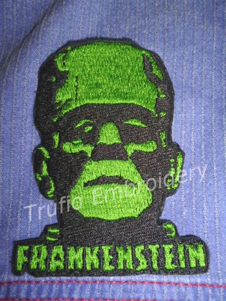 """""""Frankenstein"""" Iron-on Badge"""