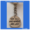 TRUST YOUR JOURNEY- Not all who wander are lost... keyring