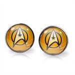 STAR TREK EARRINGS (SILVER)