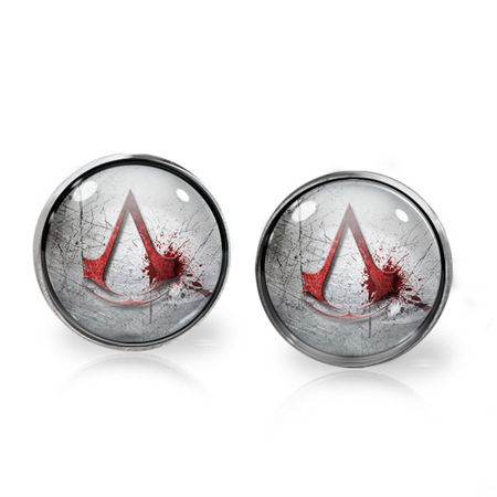ASSASSIN'S CREED EARRINGS (SILVER)