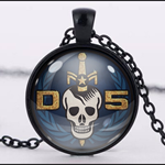 DANGER 5 PENDANT (BLACK)